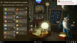 Magic Desktop: Una aplicación educativa infantil   Etapa Infantil