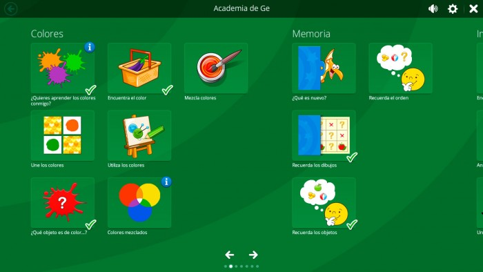 Windows para niños Magic Desktop Academia de Ge